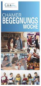 Chamer Begegnungswoche 2018 - Programm