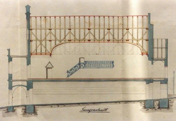 Plan des Rathauses von 1905