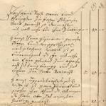 Abgabenverzeichnis aus der Zeit des Spanischen Erbfolgekrieges