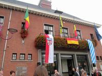 Gemeindehaus der Gemeinde Zele in Belgien